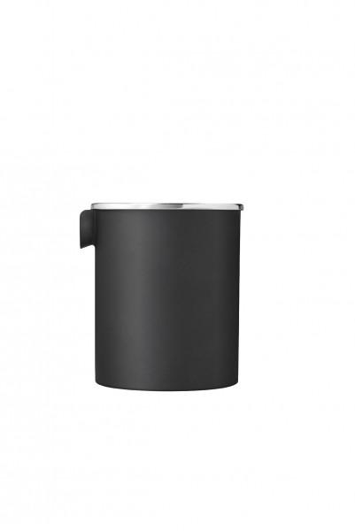 EM77 Reverse Milchkännchen, schwarz matt