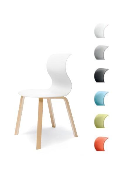 Pro 6 Stuhl - Gestell Buche