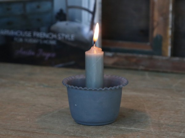 Kerzenhalter Perlenkanten für Stabkerzen