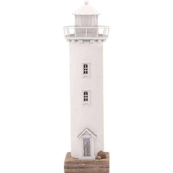 Leuchtturm weiß zur Derokation LED-Licht
