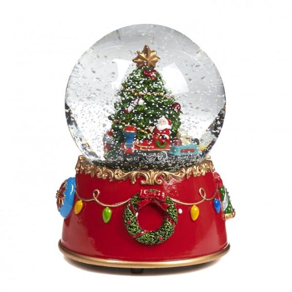 Schneekugel / Weihnachtsdeko