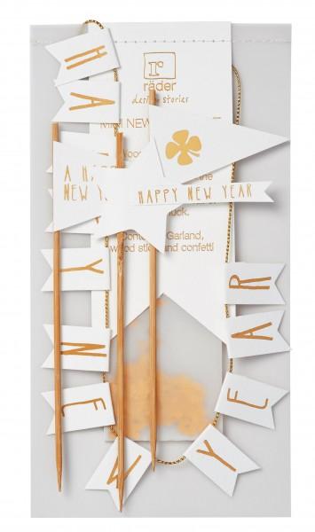 "Mini Silvester Set ""Happy New Year"""