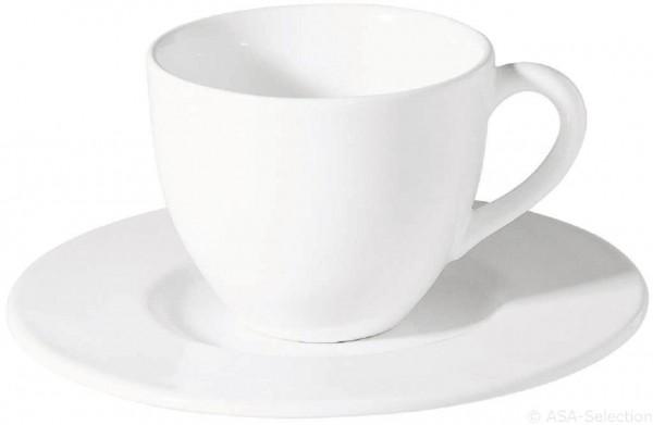 Grande Cafe au lait Tasse mit Unterer