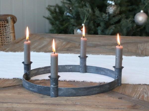 Advent Kerzenhalter antik für Stabkerzen