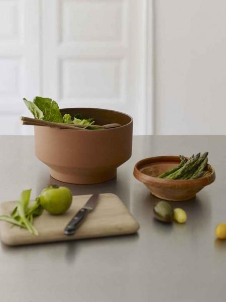 Edge - Salatbesteck, Teak