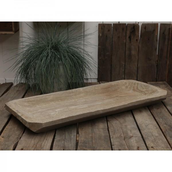Altfranzösisches Holztablett
