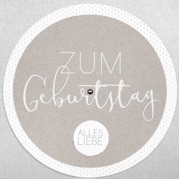 """Wunschradkarte """"Zum Geburtstag"""""""