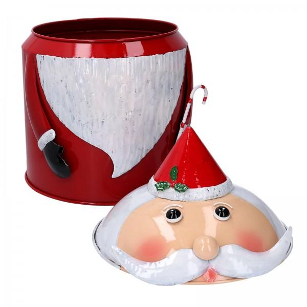 Weihnachtsmann Metallbox