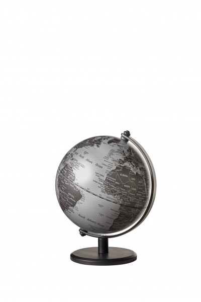 Mini-Globus GAGARIN matt silver Ausstellungsstück