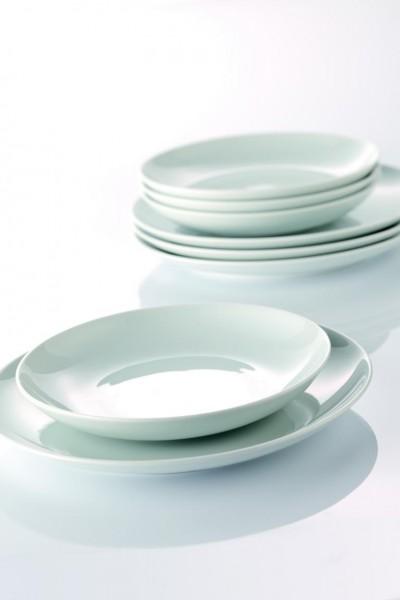 Cucina Basic - Speiseset 12-tlg. weiß