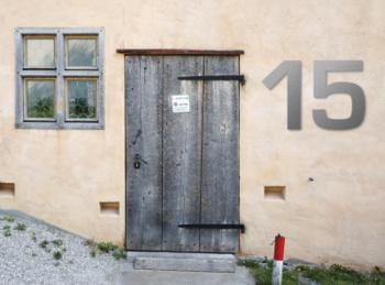 Hausnummer Edelstahl (48 cm)