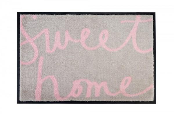 Fußmatte Sweet Home beige 50x75 cm