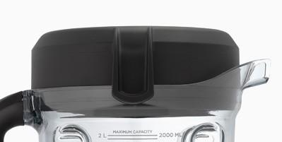 Deckel und Verschlußkappe für 2.0 L Tritan Niedrig-Behälter