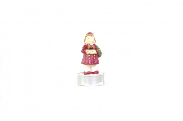 Christmasgirl Deko-Teelicht