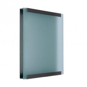Beschilderung für Glasnost Briefkasten Klassiker Glas
