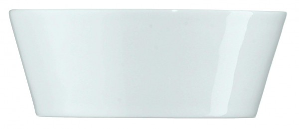 Tric - Bowl konisch Ø15 cm weiß