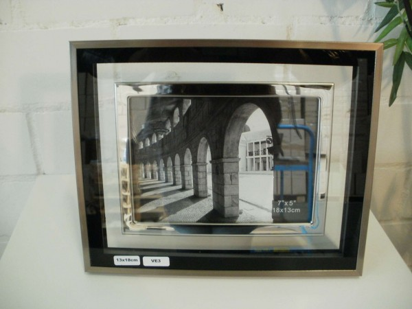 Glasbilderrahmen 13x18 cm