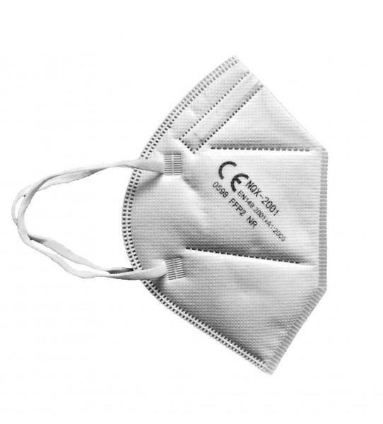FFP2 Atemschutzmaske | CE | TÜV Rheinland ® geprüft | einzeln verpackt (1 Stück)