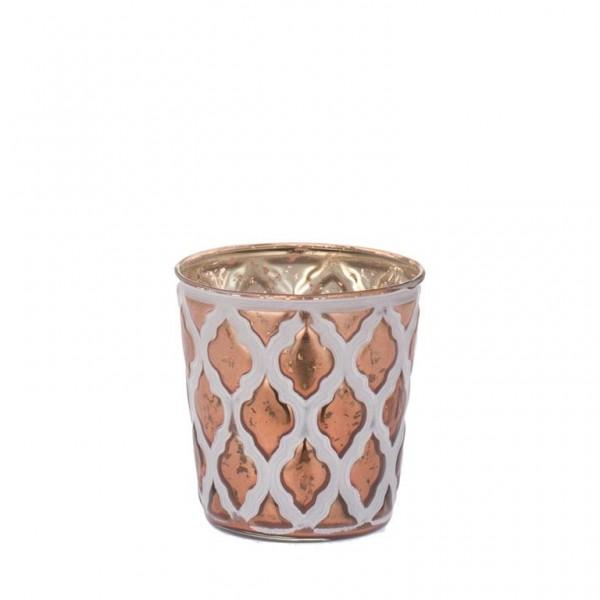Spear - Teelichthalter Kupfer 9 cm