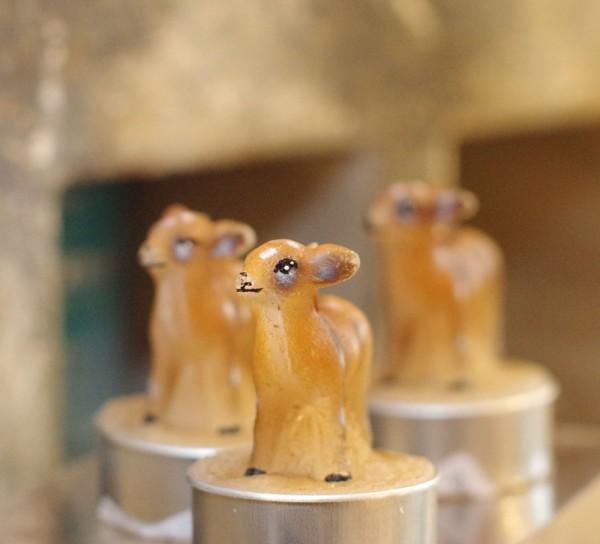 Bambi Deko-Teelicht