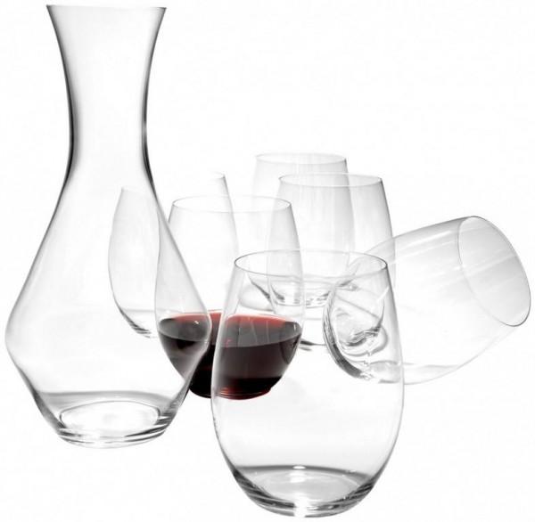O Wine Tumbler Set - Cabernet/ Merlot