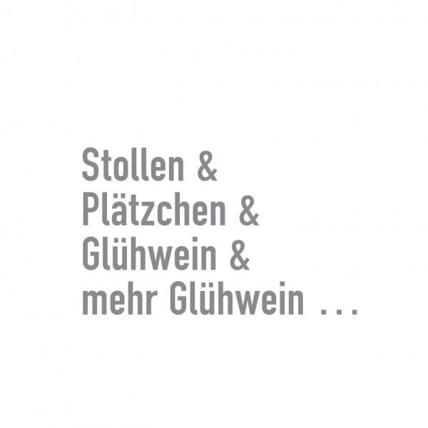 Cocktailservietten Stollen&Plätzchen 25x25 cm