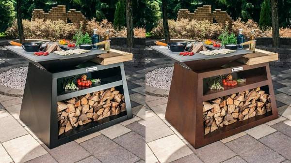Outdoor Kücheninsel mit Grillplatte