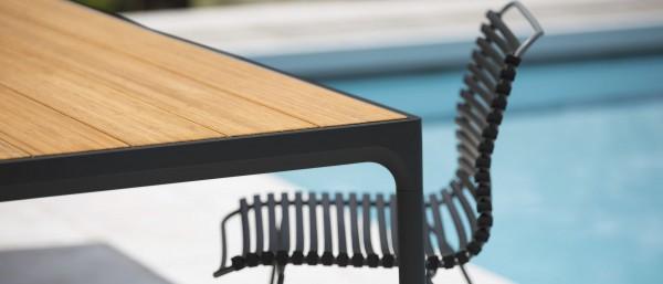 Outdoor Stuhl Click ohne Armlehne