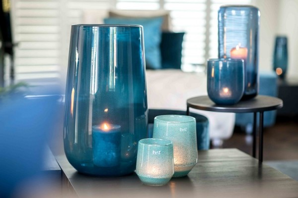 Vase Nita 1 - Tropical Blue - Höhe 30 cm; Durchmesser 24 cm