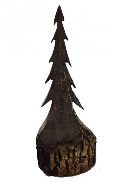 Holz Baum Schwarz