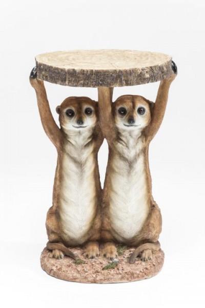 Meerkat Sisters - Beistelltisch Ø 33 cm