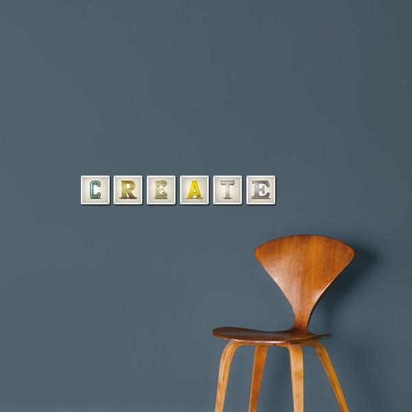 Buchstabenschilder