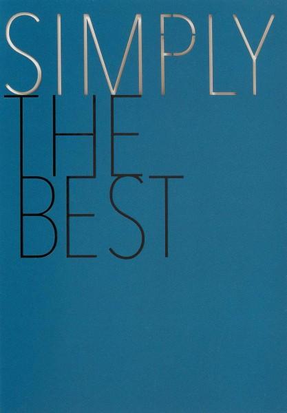 "Herrenkarte ""Simply the best"""