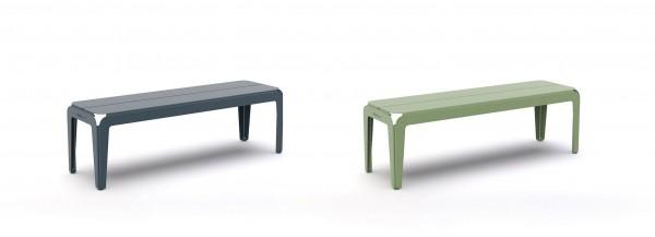 Bended bench ohne Rückenlehne