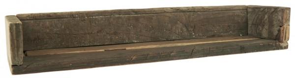 Wandregal aus Recyclingholz - Länge 60 cm