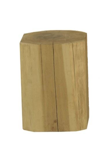 Holz Hocker Eiche h 40 cm, 30 x 30 cm