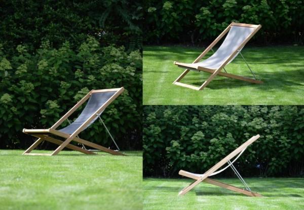 Outdoor Deckchair Nizza