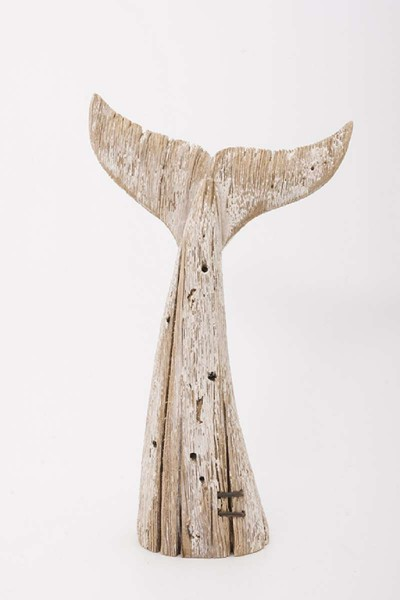 Wal Flosse aus Holz - vintage
