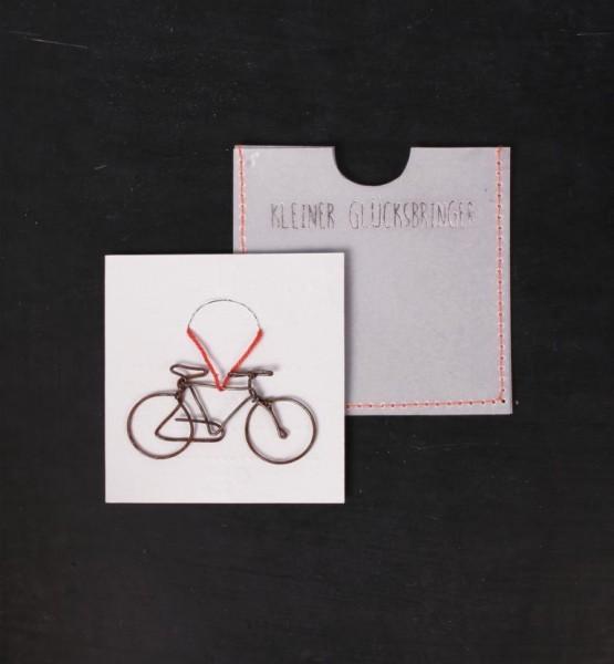 """Kleine Glücksbringer """"Fahrrad"""""""