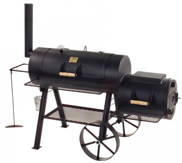 "JOES Barbeque Smoker Silver Edition 16"" Texas Classic"