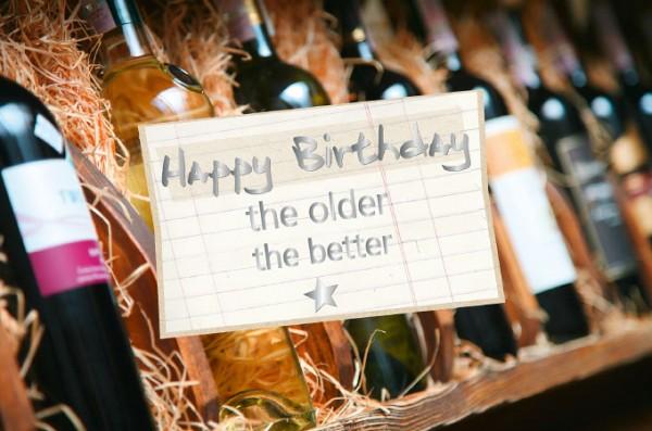 Postkarte - Happy Birthday the older the better