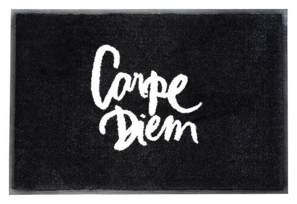 """Waschbare Fußmatte """"Carpe Diem"""" 75x50 cm"""