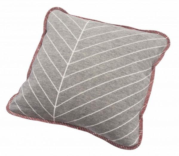 Kissen Blätter-Linien 50x50cm