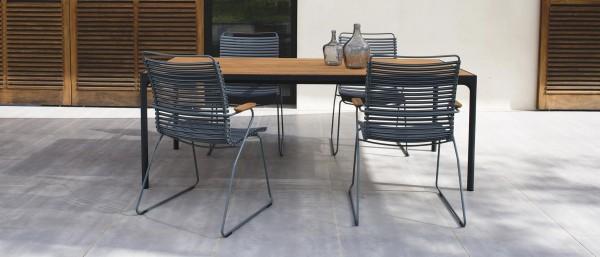 Outdoor Stuhl Click hohe Rückenlehne