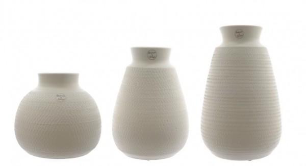 Vase mit Struktur