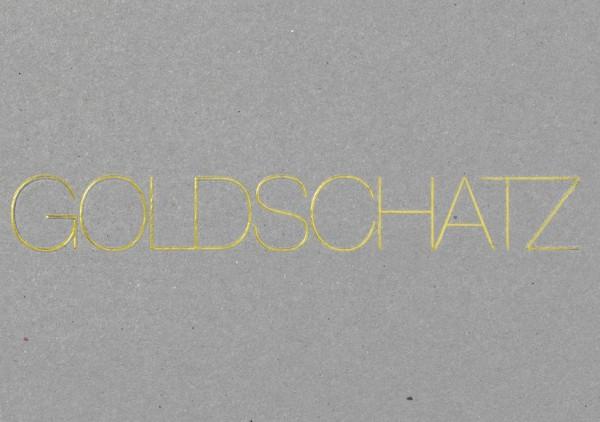 Postkarte - Goldschatz