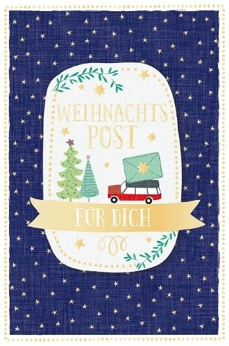 Weihnachtskarte - Weihnachtspost für Dich