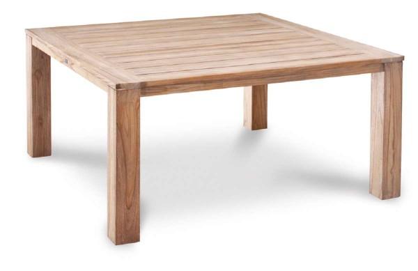 Teak-Tisch Moretti 160x160cm