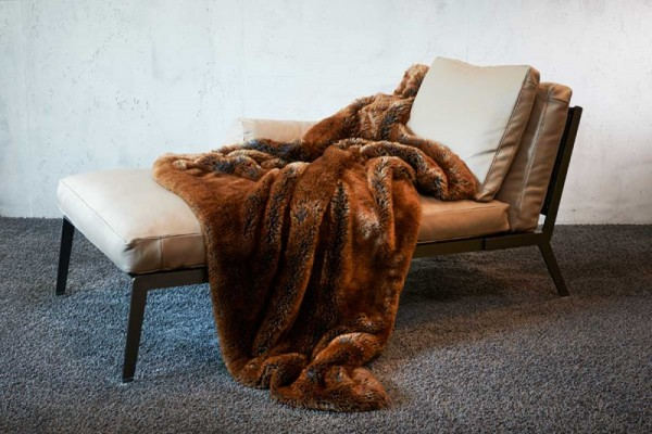 Grizzly - Kunstfelldecke 130x180 cm