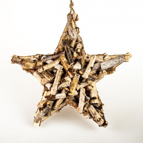 Sternanhänger Holz